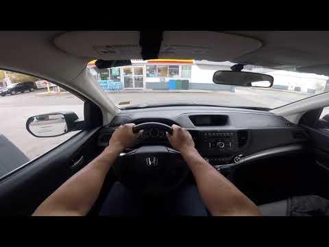 OPEN GAS CAP Honda CR-V - HOW TO