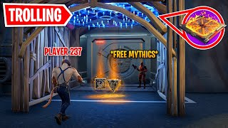 I Trolled Players Again At Vaults In Fortnite