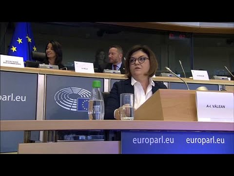 Romena Adina-Ioana V lean passou na audição no PE
