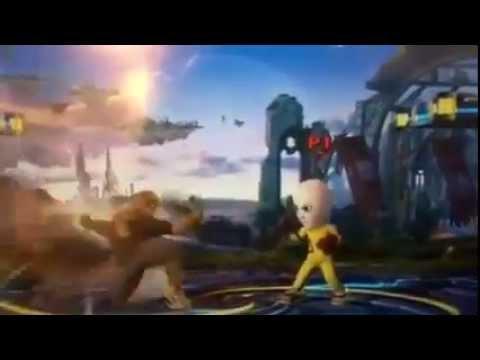 Saitama in Super Smash Bros