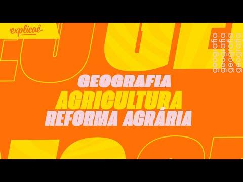 GEOGRAFIA - Agricultura - Reforma Agrária