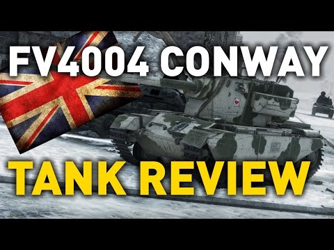 World of Tanks || FV4004 Conway - Tank Review
