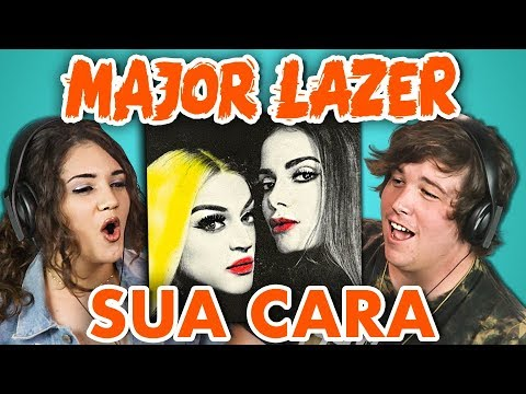COLLEGE KIDS REACT TO MAJOR LAZER - SUA CARA (feat. Anitta & Pabllo Vittar)