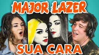 COLLEGE KIDS REACT TO MAJOR LAZER - SUA CARA (feat. Anitta &amp Pabllo Vittar)