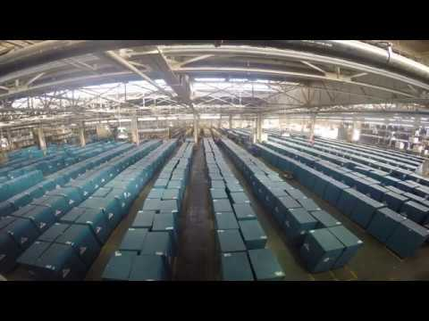 Election Warehouse Time Lapse