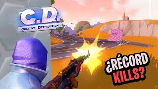 RECORD DE KILLS en CD🔥 Creative Destruction (Fortcraft) | PolGames | Gameplay en Español
