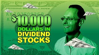 How To Invest $10,000 Dollars For RIDICULOUS Dividend Income