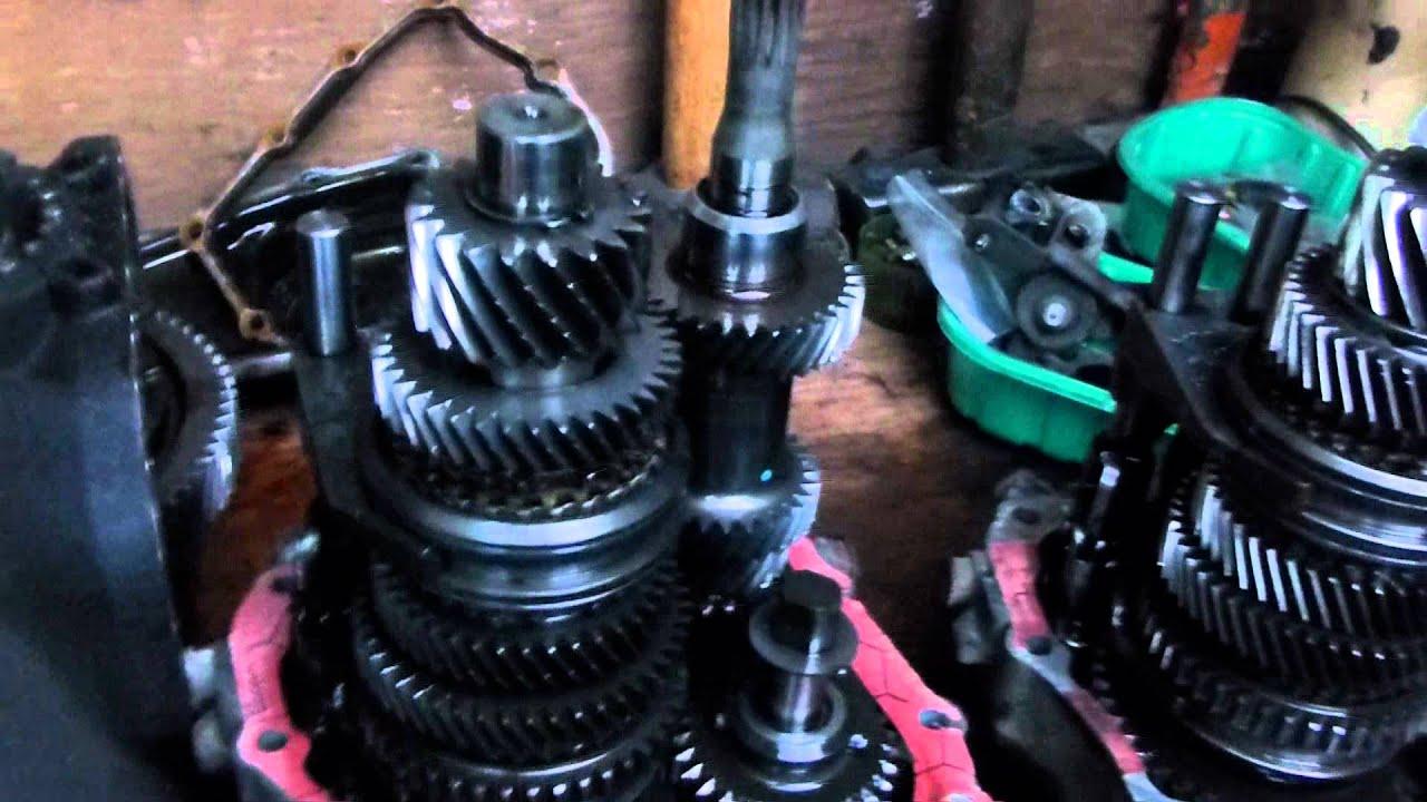 vauxhall zafira 1.6 16v petrol F17 gearbox transmission part 1 of ...