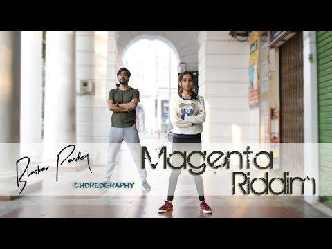 Magenta Riddim   Dance Cover   Bhangra Funk   Dhol Mix   DJ Snake   Bhaskar Pandey Choreography