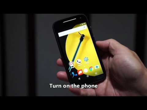 How to switch Verizon Moto E to GSM mode