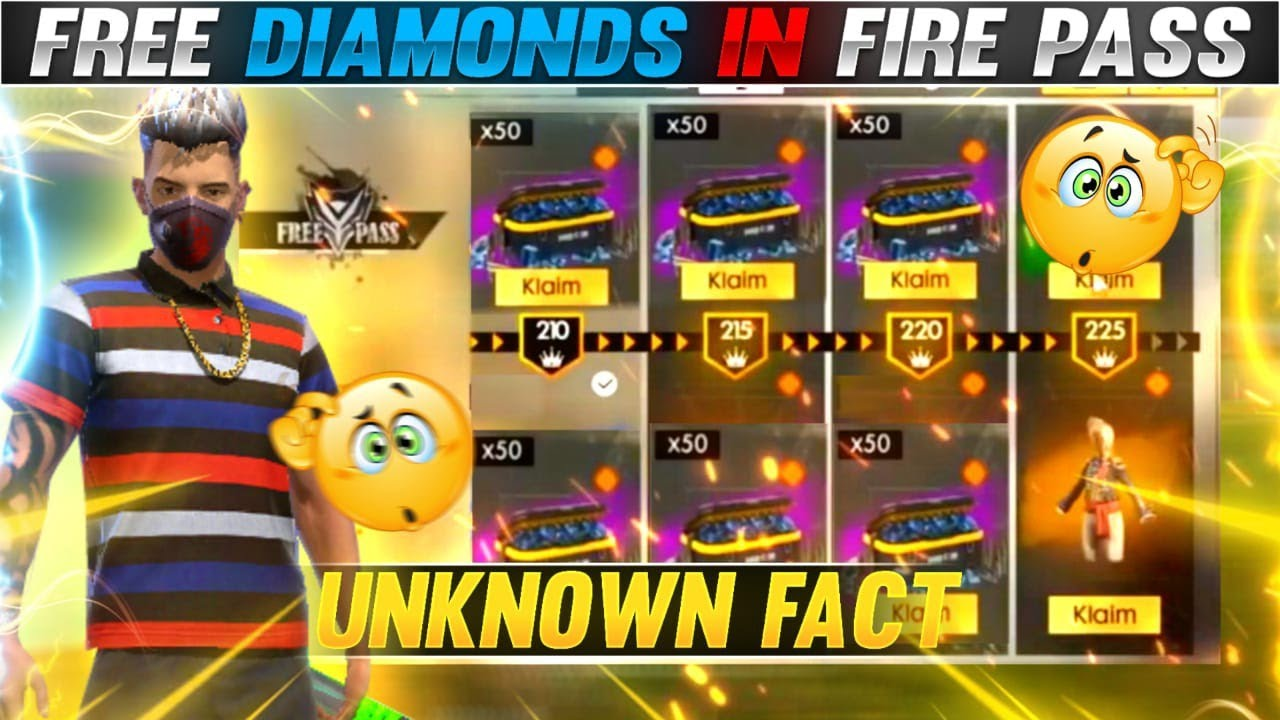 Free Diamonds From Elite Pass ?? || Unknown Fact || #shorts #factfire #freefirefacts