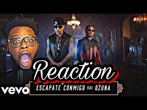 Wisin - Escápate Conmigo (Official Video) ft. Ozuna REACTION
