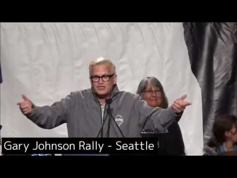 Drew Carey at Seattle Gary Johnson Rally 2016-09-17