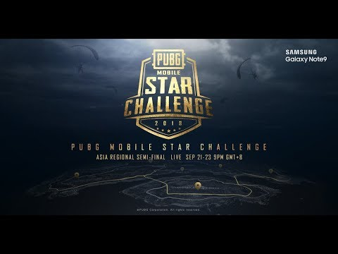 PMSC Asia Semi-Finals Day 2 [ENG] | Galaxy Note9 PUBG MOBILE STAR CHALLENGE- Asia Semi-Finals Day 2