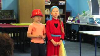ZA (7yrs) & JD Holt (5yrs) - Do You Want to Build a Snowman
