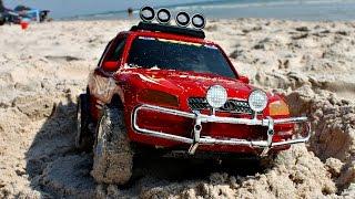 Мультики про машинки - Путешествие машинки на пляж