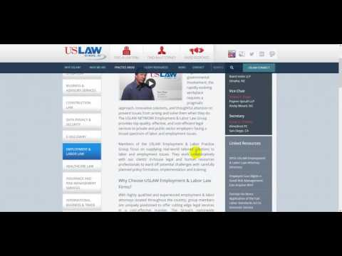 US Law Network Employment & Labor Law