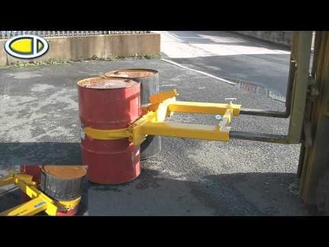 Forklift Drum Handler - Www.forklift-attachments.co.uk
