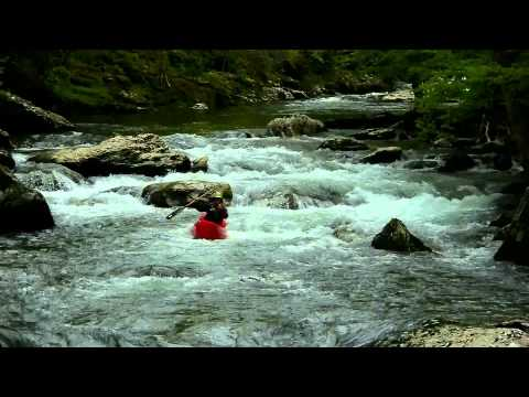 Whitewater Kayaking on Little River, Townsend, TN