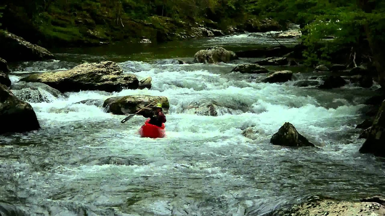 Whitewater Kayaking On Little River Townsend TN YouTube