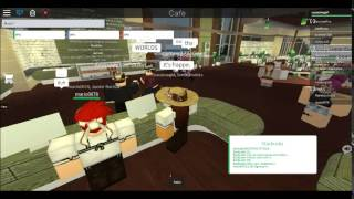 Roblox: Working at Frappe/Life at Frappe (Old Starbucks)