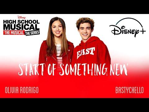 Start Of Something New | HSMTMTS | Lyric Video | Nini & Ricky Version