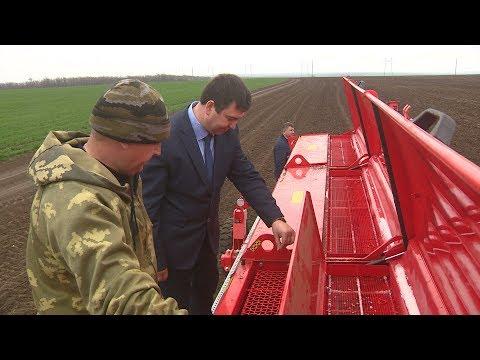 В Волгоградской области начался сев льна