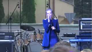 Koncert Augustów 18.08.2012 Sasha Strunin - To nic kiedy plyna lzy.