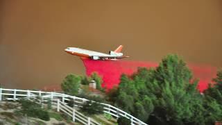 SAND FIRE -DC 10 Air Tanker Rescue