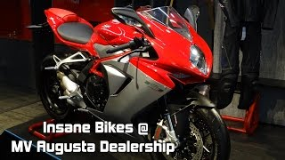 Crazy Bikes at MV Augusta Dealership | Bangalore | SupercarsInBangalore | #79