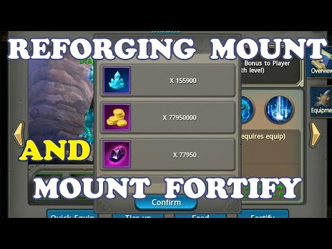 Taichi Panda | ReForging Mount and Mount Fortify