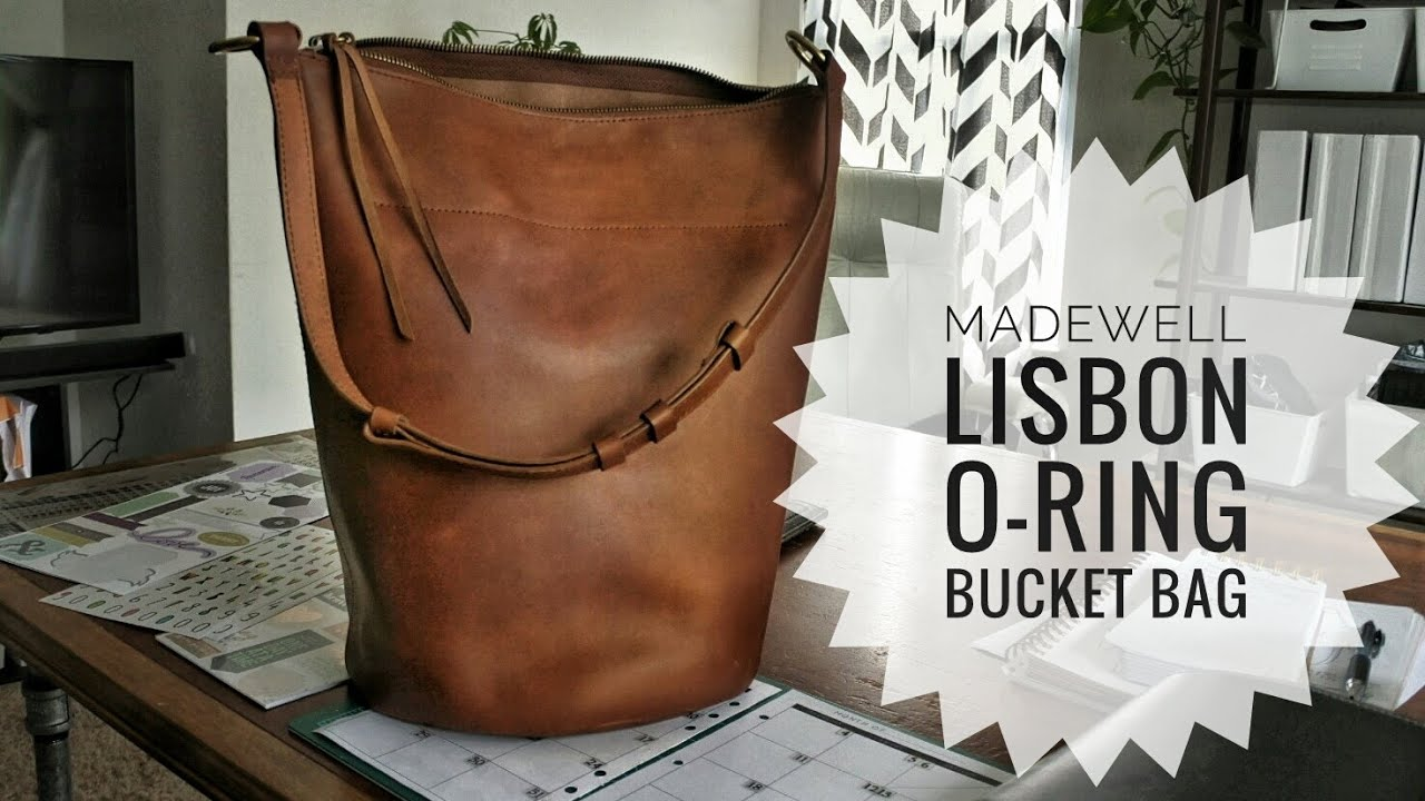 bbb11984e47f Madewell Lisbon O-Ring Bucket Bag in Leather - First Impressions ...