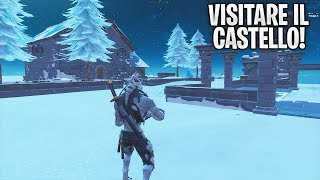 HOW TO ENTER IN THE SECRET CASTLE ON THE POLAR PICCO! GLITCH ASSURDO ON FORTNITE!