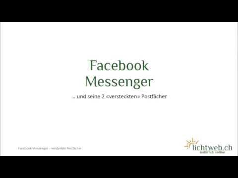 gelöschte archivierte nachrichten facebook wiederherstellen