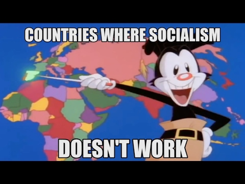 Countries Where Socialism Doesn't Work - Funny and Catchy Tune :)