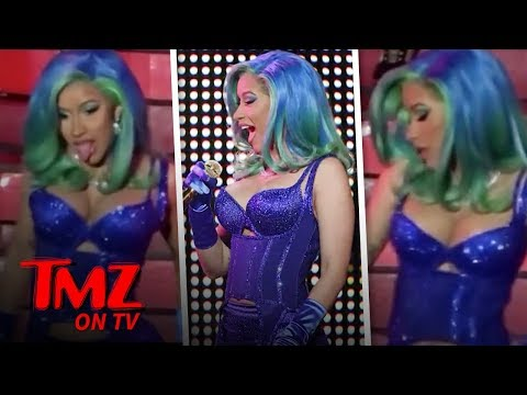 Cardi B's 2019 AVN Award Performance Was Something Else | TMZ TV