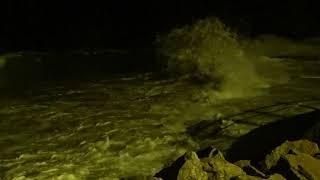 Marée haute 5 11 2017 - Cotentin - Plage de Carteret