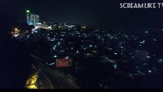 Keindahan kota Ambon di malam hari