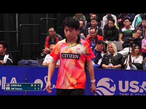 Make 2016 US Open - Bob Chen vs. Takuya Jin (Men's SF) Screenshots