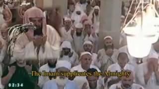 Sheikh Sudais  sangat menghayati didalam  doa qunut   MENANGIS