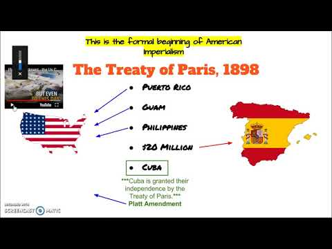 Treaty of Paris (1898) & Philippine-American War