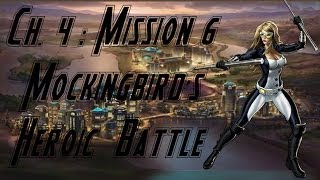 Marvel Avengers Alliance Season 2: Chapter 4, Mission 6 - Mockingbird