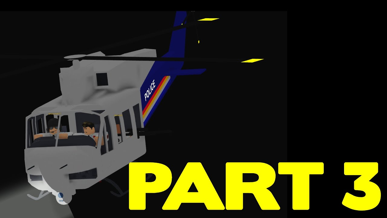 ROBLOX Vancouver RCMP Patrol Part 3 | Helicopter Patrol!