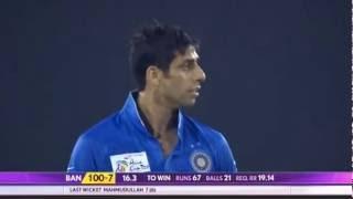 Asia Cup 2016, Bangladesh vs India Nehra bowling