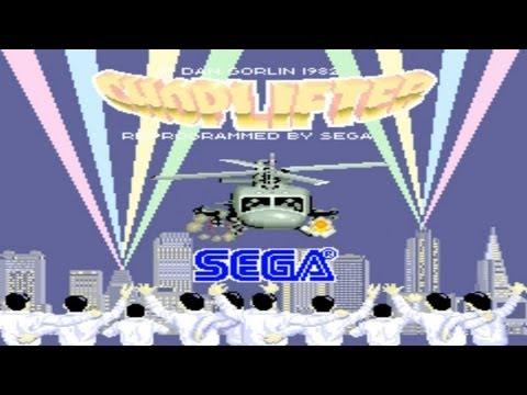 Choplifter 1985 Sega Mame Retro Arcade Games