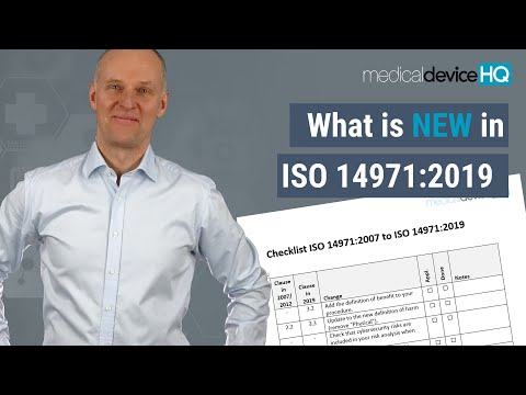 What Is New In ISO 14971 2019