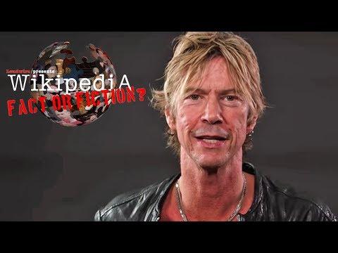 Duff McKagan - Wikipedia: Fact or Fiction?