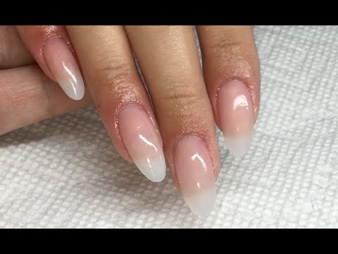 Natural Set Ft. Naio Nails Acrylic System - YouTube