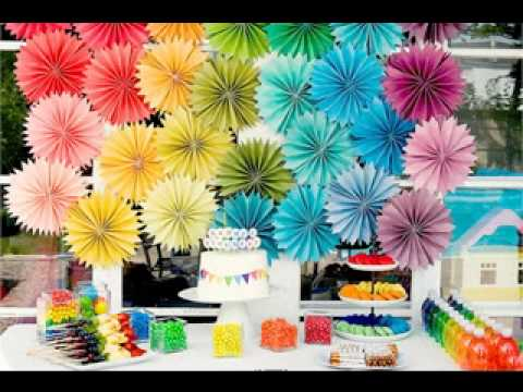 Easy DIY Kids Birthday Party Decoration Ideas