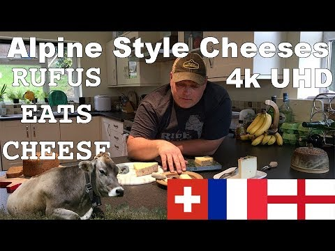 Rufus Eats Cheese - Episode 2 - Alpine Style - Appenzeller,